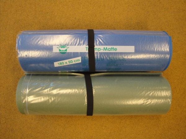 Matkamatt 180x50x0,8 cm sinine ja roheline