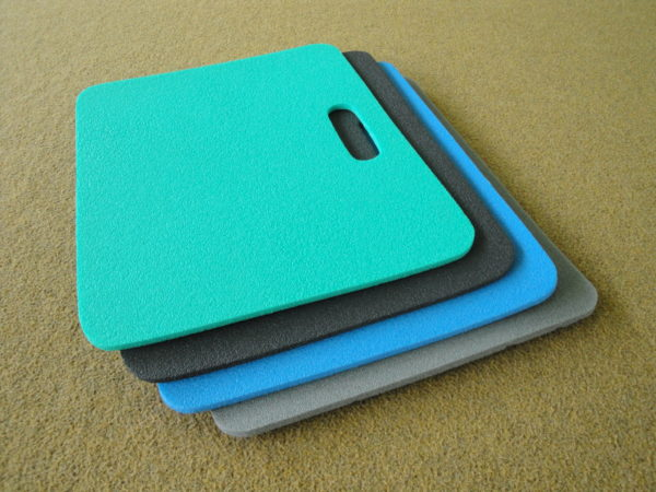 Sitting pad, thickness of 9-10 mm