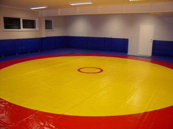 Wrestling mat cover 12x12m