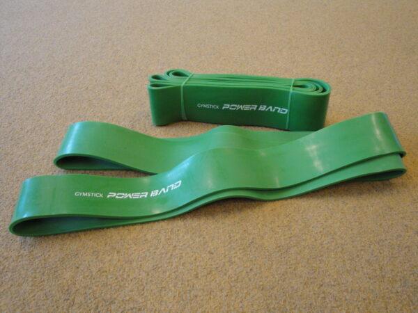 Ekspanderkumm Power Band Gymstick, roheline (eriti tugev)