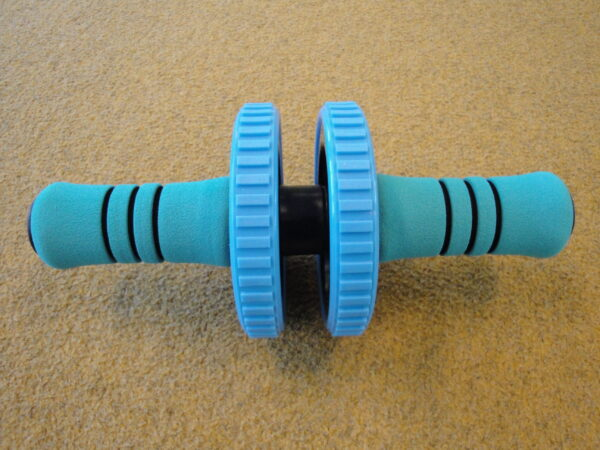 Active workout roller with two wheels Gymstick