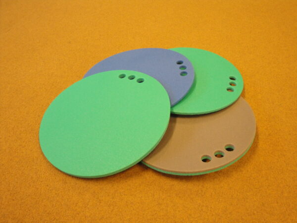 Round sitting pad, thickness 10 mm