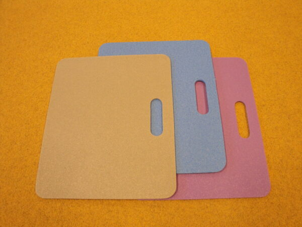 Sitting pad, thickness of 5-6 mm