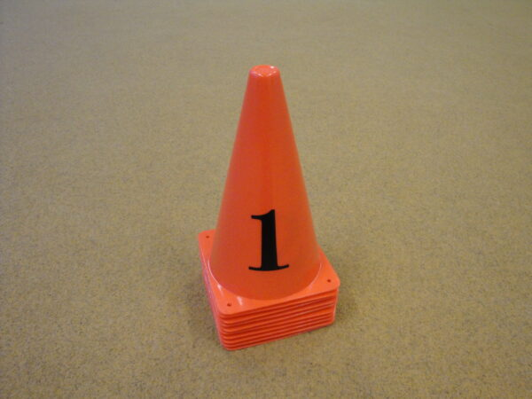 The numbered speed cone Gymstick, set