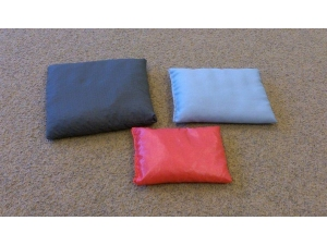 Toss bean bags, 3 different sizes