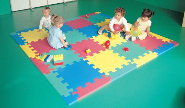Puzzle mat Amaya, 50x50x2 cm