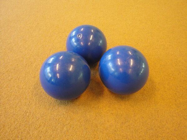 PVC ball Amaya, d=14-16 cm, blue