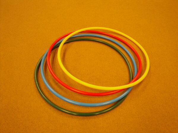Plastic gymnastic ring d=66 cm