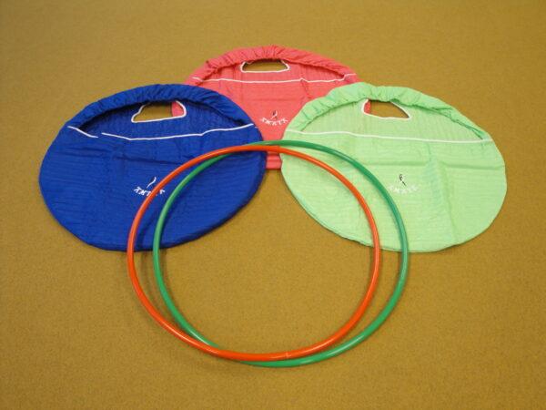 Rhythmic gymnastics equipment bag