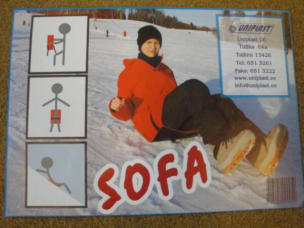 Pehmendusega liuleht Sofa