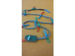 """Walking """"Worm"""", 35 m, 14 loops"""