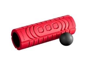 Travel roller with myofascia ball Gymstick