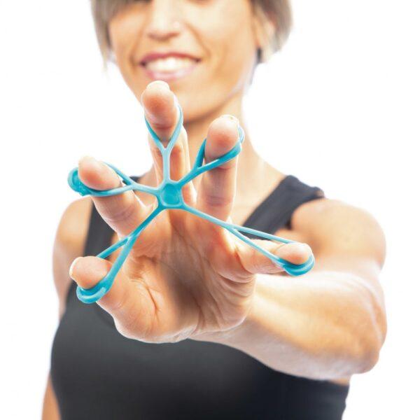 Ekspanderkummide komplekt sõrmedele, 3 tugevust, Amaya