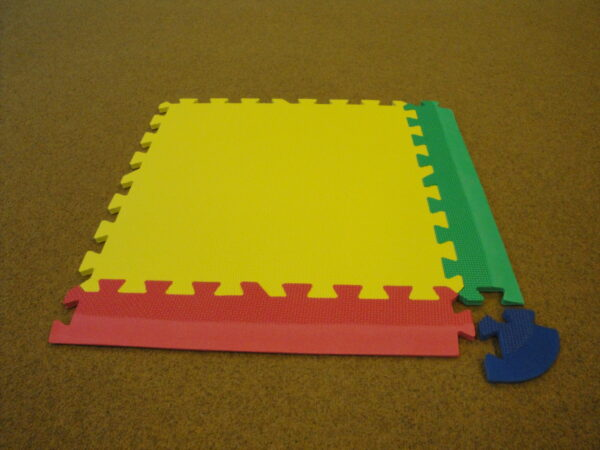 Puzzle mat corner piece Amaya