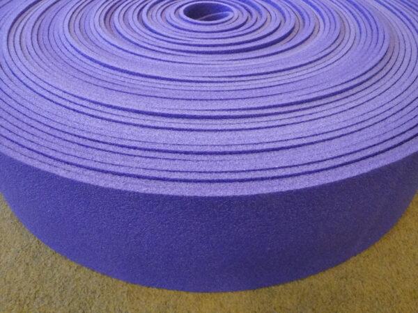 Foam polyethylene in rolls 40 m, purple