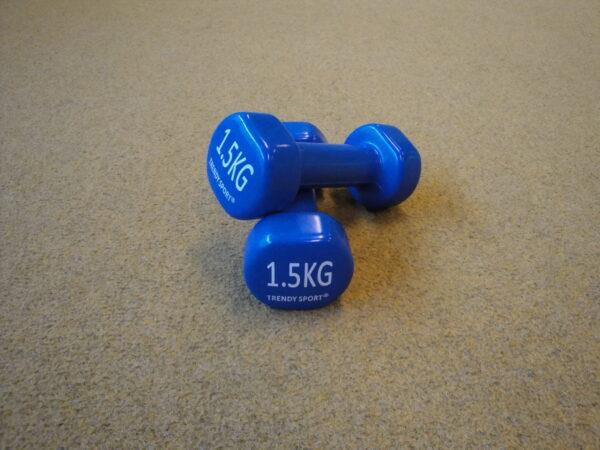 Dumbbell 1,5 kg Trendi Sport, pair